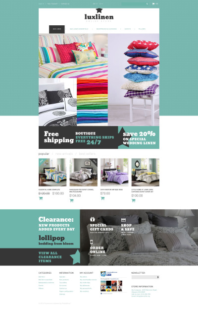 Home Decor Responsive PrestaShop Thema