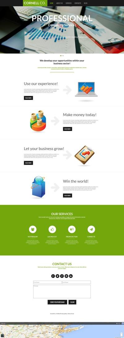 Business Tema Moto CMS HTML