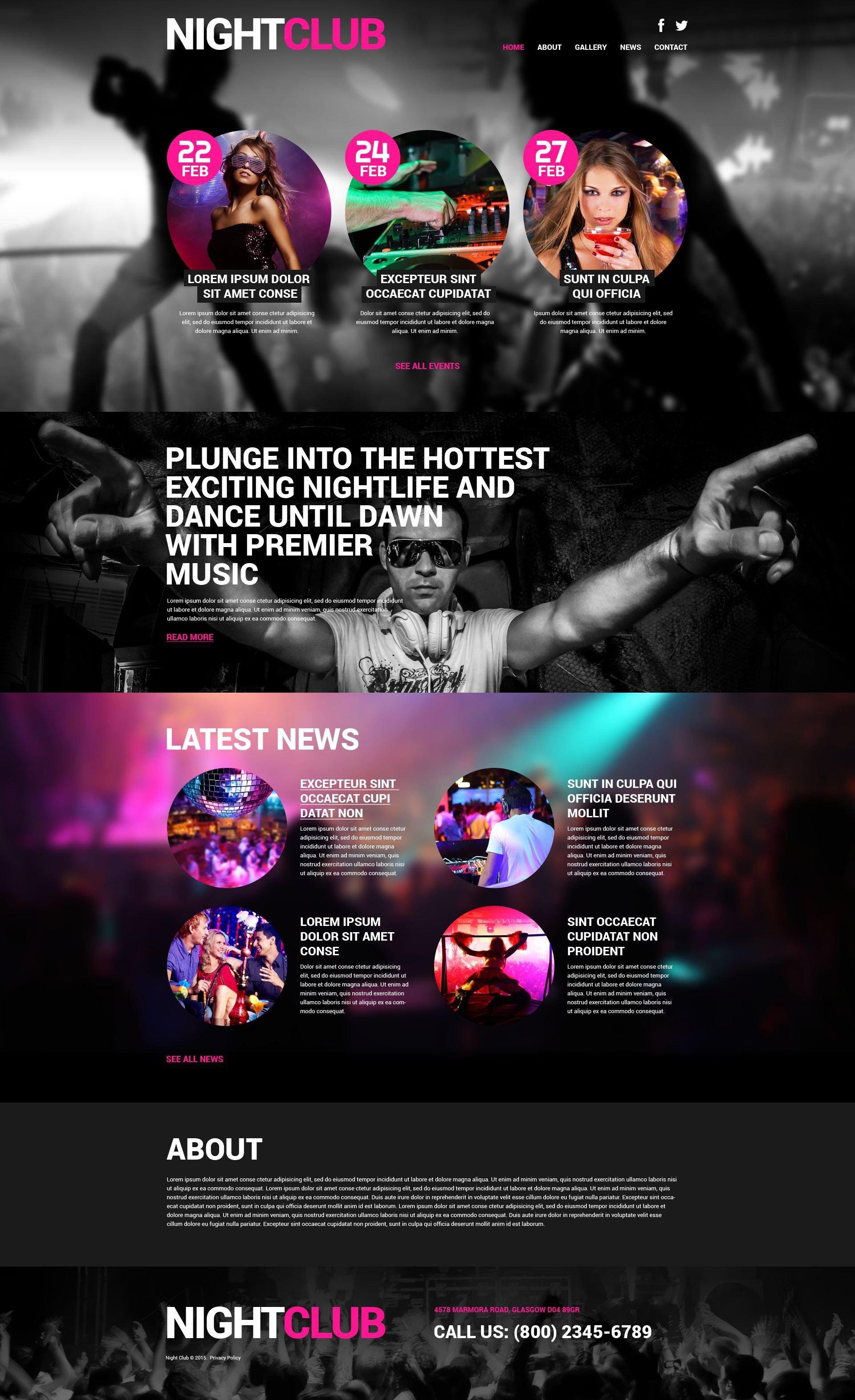 Party WordPress Theme #51986