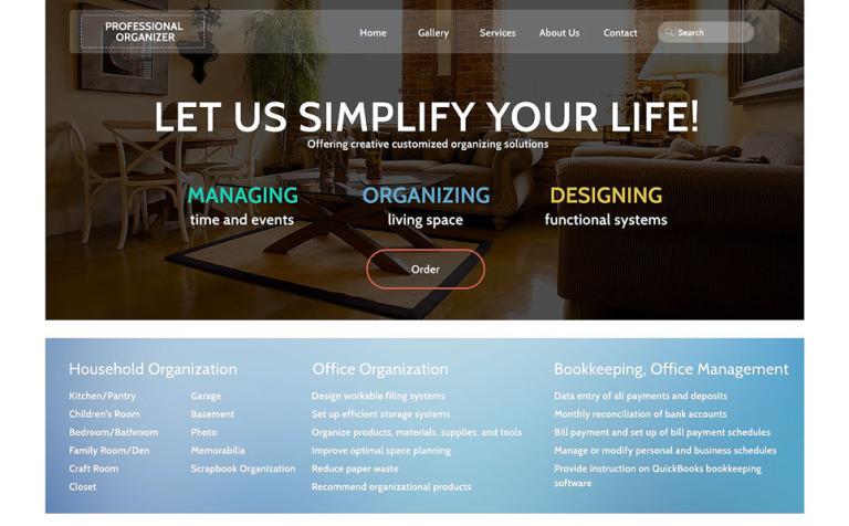 Office Responsive Website Template