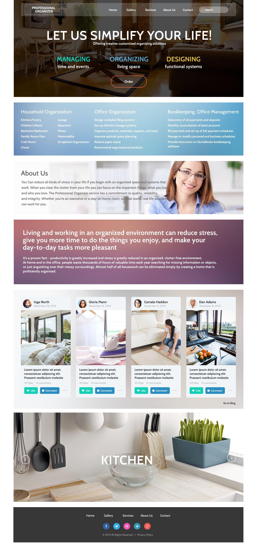 Office Responsive Website Template 53275