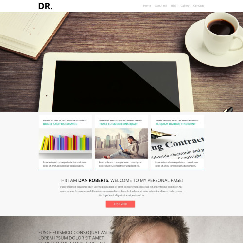 Dr. - Joomla! Template based on Bootstrap