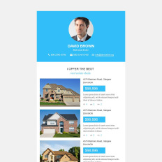 Real Estate Newsletter Template | Real Estate Newsletter Templates Templatemonster