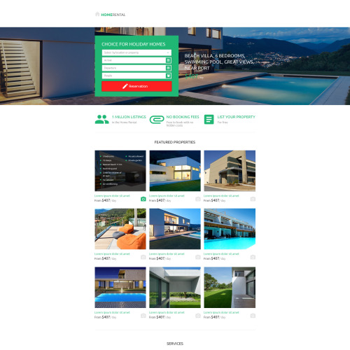 Real Estate Agency - Unbounce Template