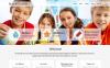 Responsive Website template over Kinderdagverblijf  New Screenshots BIG