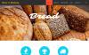 Responsive Website Vorlage für Bäckerei  New Screenshots BIG