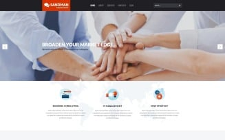 Sandman - Business Multipurpose Modern WordPress Elementor Theme