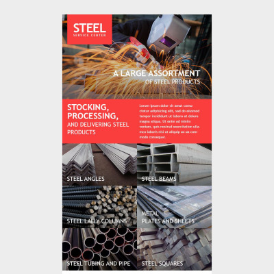 Steelworks Responsive Template Di Newsletter