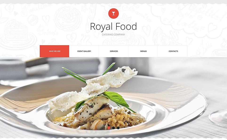 Template Siti Web Responsive #53290 per Un Sito di Catering New Screenshots BIG