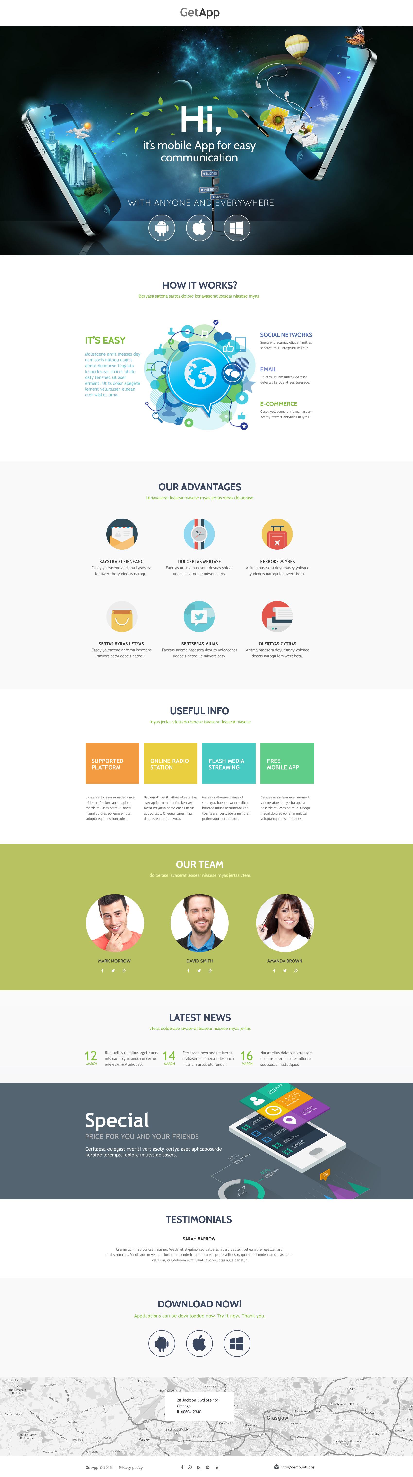 Unbounce-mall för webutveckling #53207