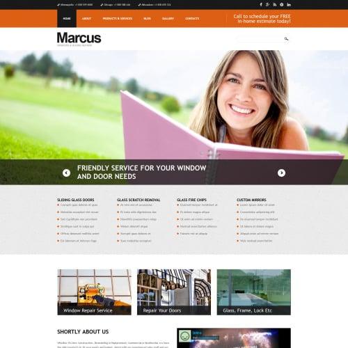Marcus - Joomla! Template based on Bootstrap