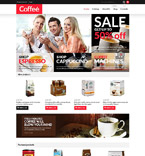 Cafe & Restaurant VirtueMart  Template 53304