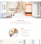 Hotels Landing Page  Template 53313