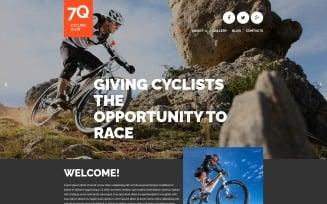 Cycling Joomla Template