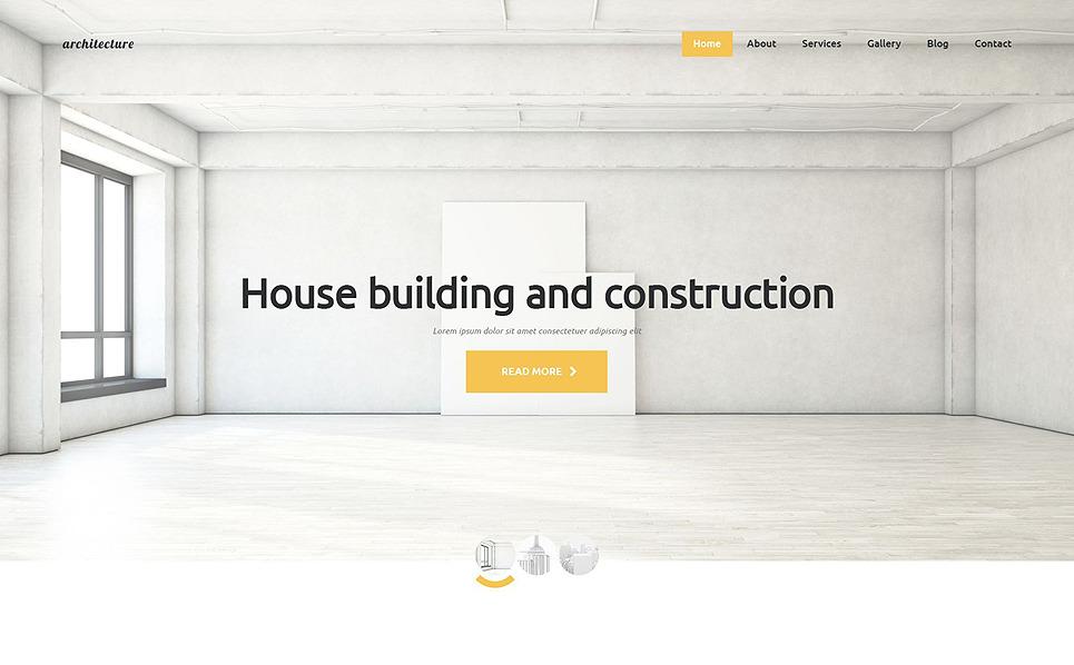 Reszponzív Építészet Joomla sablon New Screenshots BIG
