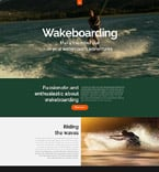 Sport Website  Template 53318