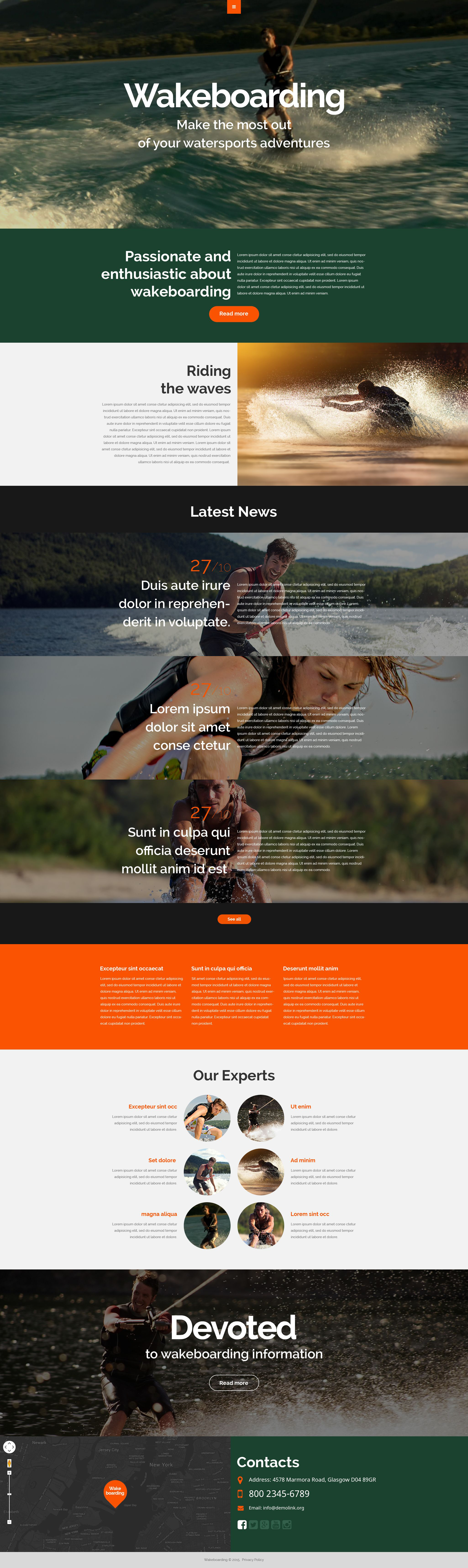 The Wakeboarding Runner Bootstrap Design 53318, one of the best website templates of its kind (sport, most popular), also known as wakeboarding runner website template, wakeboarding website template, magazine website template, news website template, events website template, reviews website template, articles website template, highlights and related with wakeboarding runner, wakeboarding, magazine, news, events, reviews, articles, highlights, etc.