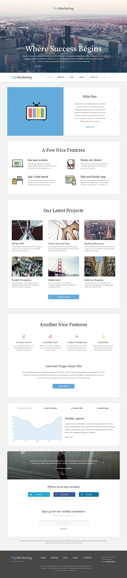 WordPress Theme/Template 53322 Main Page Screenshot