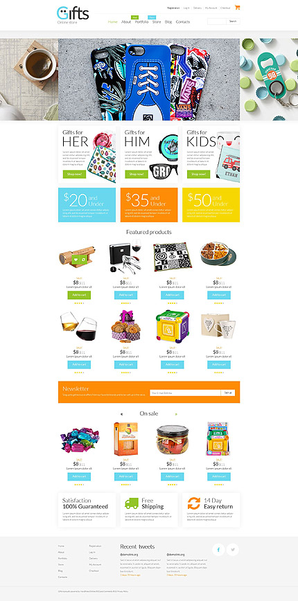 ADOBE Photoshop Template 53330 Home Page Screenshot