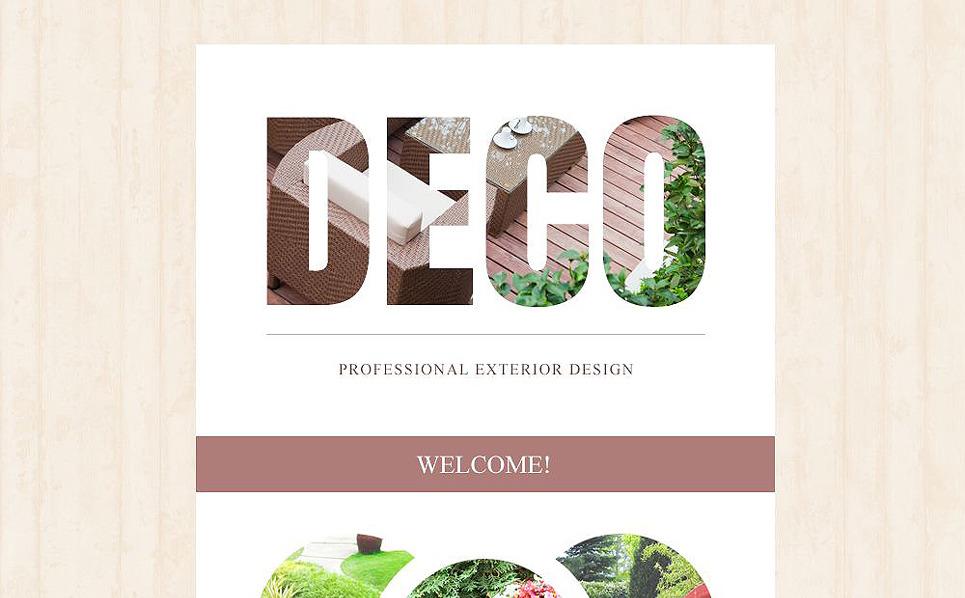 Responsive Newsletter Vorlage für Außendesign  New Screenshots BIG