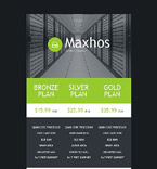 Web Hosting Newsletter  Template 53342