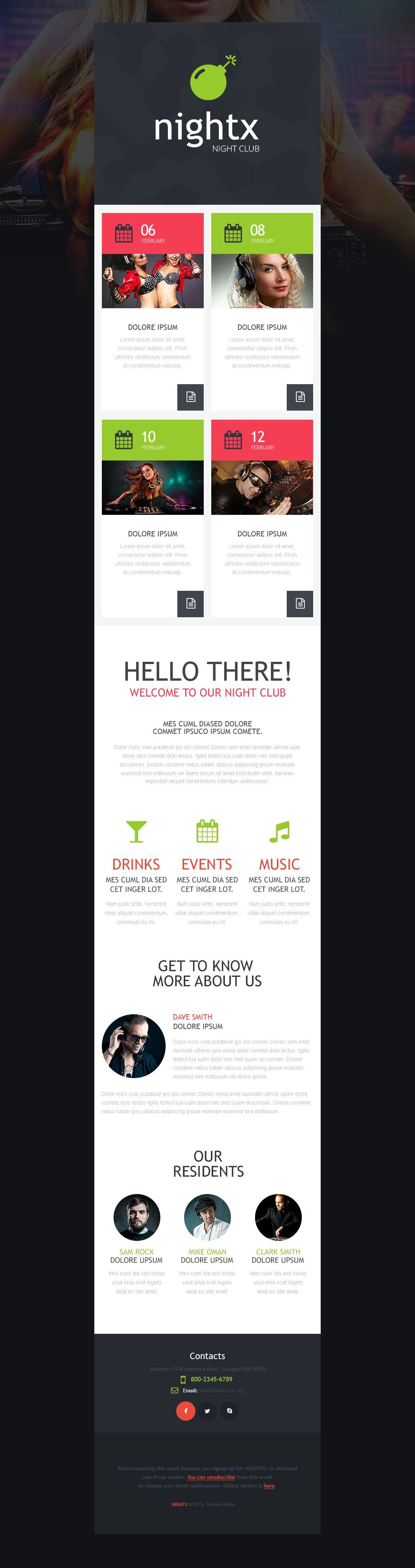 The Nightx Night Club Newsletter Template Design 53343, one of the best Newsletter templates of its kind (night club, most popular), also known as nightx night club Newsletter template, music Newsletter template, dances Newsletter template, dancers Newsletter template, entertainment Newsletter template, joy Newsletter template, energy Newsletter template, free drinks Newsletter template, tickets Newsletter template, party Newsletter template, deejays Newsletter template, dj Newsletter template, events Newsletter template, beats Newsletter template, disks Newsletter template, songs Newsletter template, tunes Newsletter template, rhythms Newsletter template, gallery Newsletter template, photos Newsletter template, pictures Newsletter template, guests Newsletter template, participants Newsletter template, interview Newsletter template, stars Newsletter template, artists Newsletter template, funs Newsletter template, booking Newsletter template, mob Newsletter template, glamour girls Newsletter template, party Newsletter template, MC cocktail and related with nightx night club, music, dances, dancers, entertainment, joy, energy, free drinks, tickets, party, deejays, dj, events, beats, disks, songs, tunes, rhythms, gallery, photos, pictures, guests, participants, interview, stars, artists, funs, booking, mob, glamour girls, party, MC cocktail, etc.