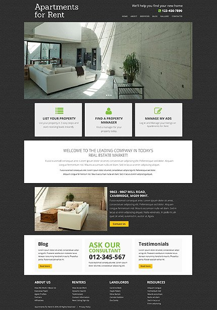 Drupal Template 53348 Main Page Screenshot
