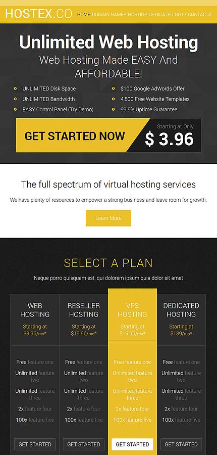 Joomla Theme/Template 53352 Main Page Screenshot