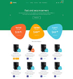 Web Hosting osCommerce  Template 53356