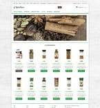 Food & Drink osCommerce  Template 53357