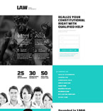 Law Landing Page  Template 53359