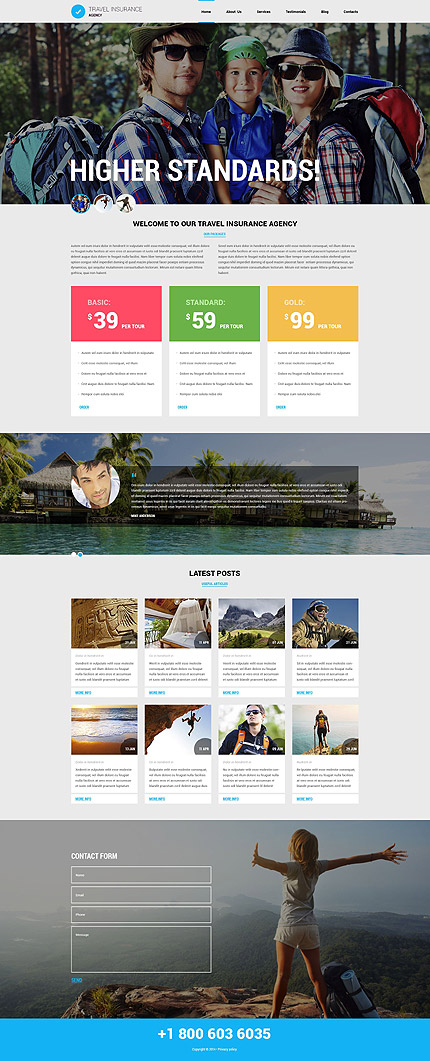 Joomla Theme/Template 53362 Main Page Screenshot