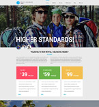 Travel Joomla  Template 53362