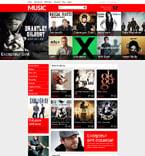 Music Magento Template 53364