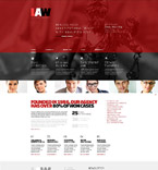 Law WordPress Template 53371