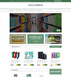 Education VirtueMart  Template 53377