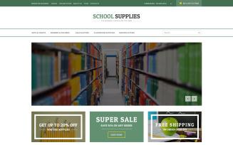 Back-to-School Goods VirtueMart Template