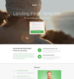 Software Landing Page  Template 53378