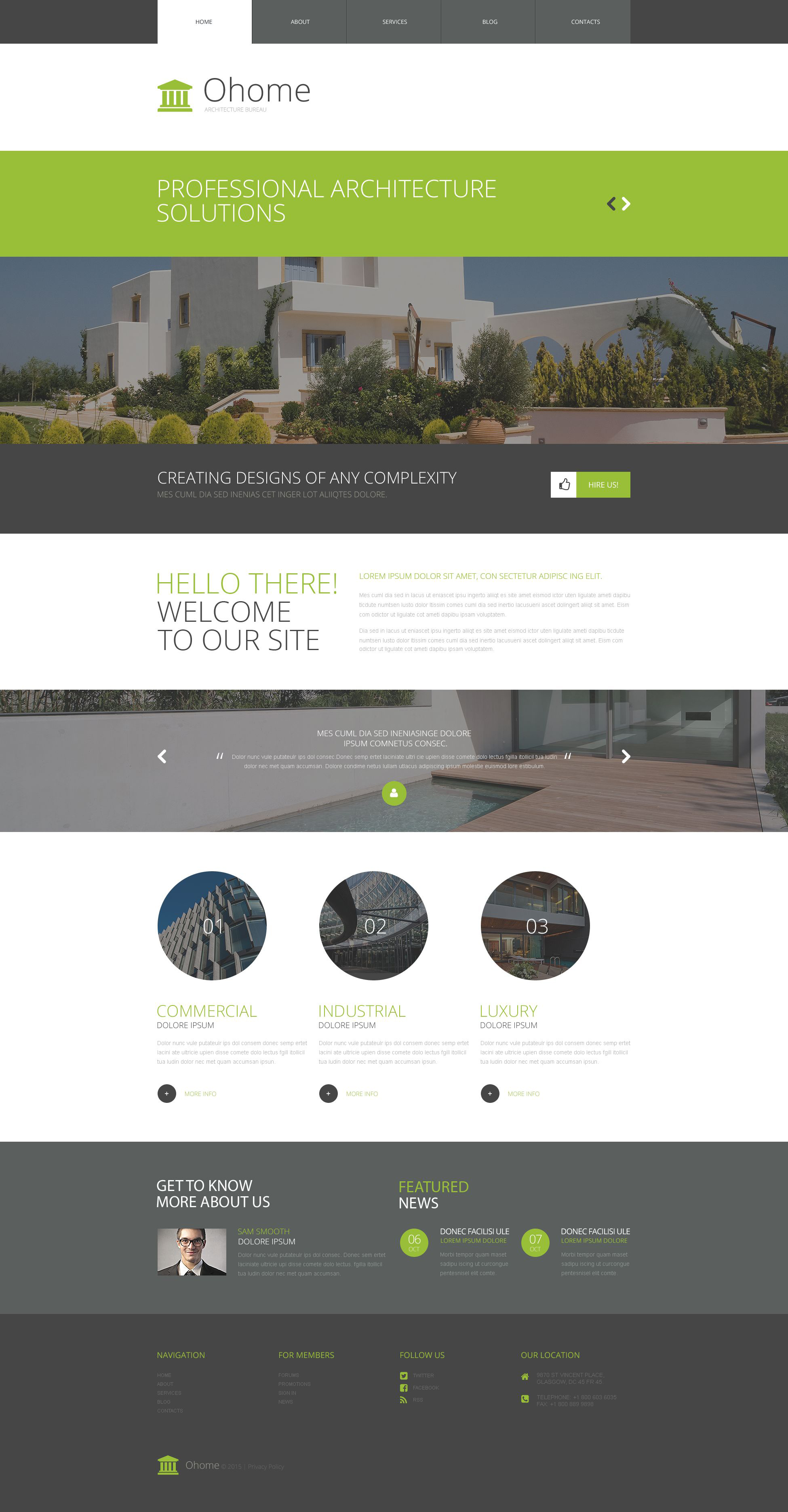The Ohome Architecture Company WordPress Design 53381, one of the best WordPress themes of its kind (art & photography, most popular), also known as Ohome architecture company WordPress template, architectural company bureau WordPress template, buildings WordPress template, technology WordPress template, innovation WordPress template, skyscrapers WordPress template, projects WordPress template, constructions WordPress template, houses WordPress template, work WordPress template, team WordPress template, strategy WordPress template, services WordPress template, support WordPress template, planning WordPress template, custom design WordPress template, enterprise WordPress template, clients WordPress template, partners WordPress template, esteem and related with Ohome architecture company, architectural company bureau, buildings, technology, innovation, skyscrapers, projects, constructions, houses, work, team, strategy, services, support, planning, custom design, enterprise, clients, partners, esteem, etc.