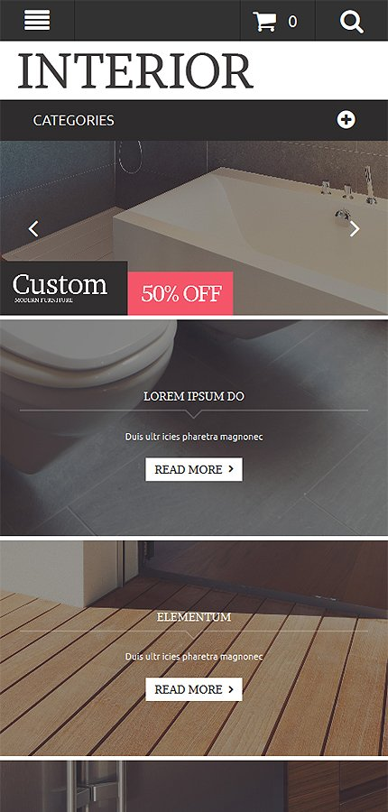Magento Theme/Template 53395 Main Page Screenshot