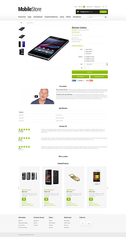 ADOBE Photoshop Template 53398 Home Page Screenshot