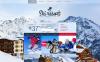 Адаптивний Шаблон сайту на тему гірські лижи New Screenshots BIG