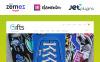 Адаптивный WooCommerce шаблон №53330 на тему магазин подарков New Screenshots BIG