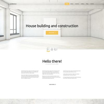 46 best joomla architecture templates template monster. Black Bedroom Furniture Sets. Home Design Ideas