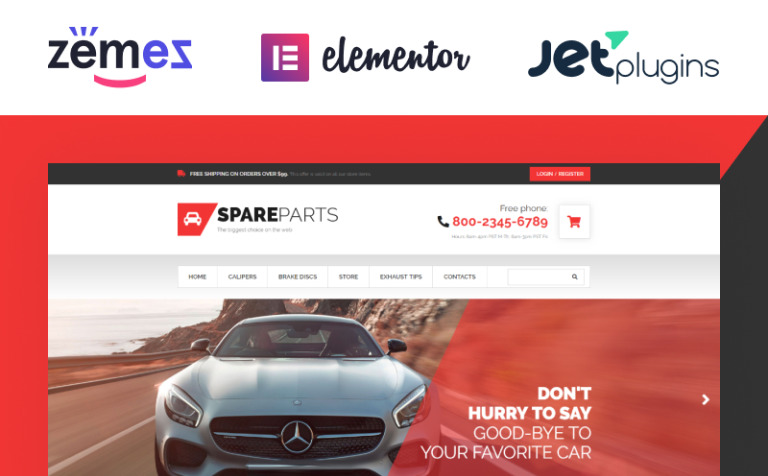 Car Parts Store WooCommerce Theme