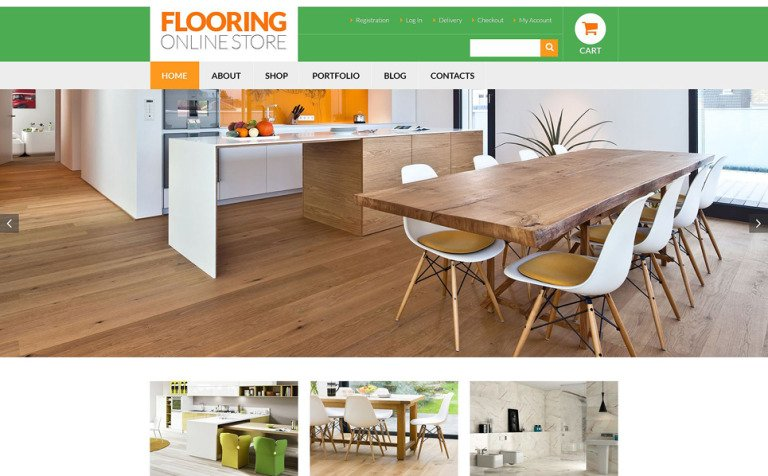 Flooring Services WooCommerce Theme