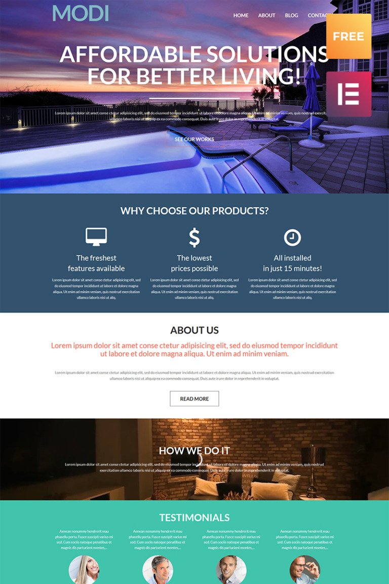 Free Cherry WordPress Theme WordPress Theme New Screenshots BIG