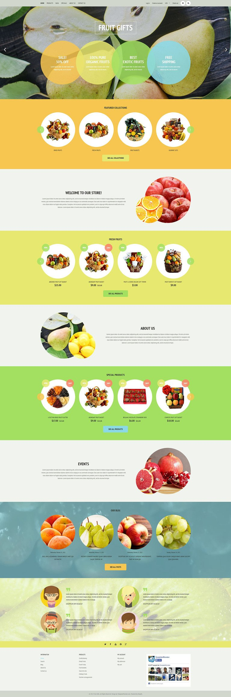 Fruit Shop Shopify Theme New Screenshots BIG