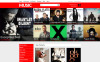 """Magasin de musique pour tous les goûts"" thème Magento adaptatif New Screenshots BIG"