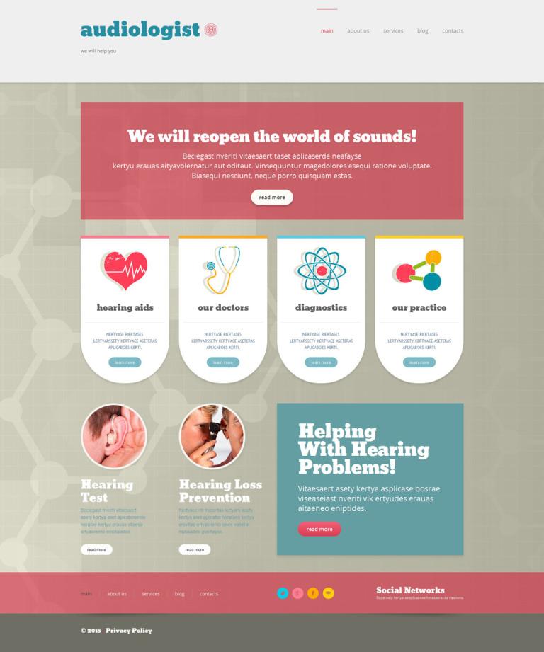 Medical Responsive WordPress Theme New Screenshots BIG
